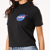 /achat-t-shirts/nasa-tee-shirt-crop-femme-insignia-noir-133624.html