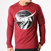 /achat-sweats-col-rond-crewneck/nasa-sweat-crewneck-insignia-front-desaturate-bordeaux-133644.html