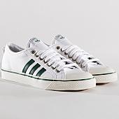 /achat-baskets-basses/adidas-baskets-nizza-cq2327-footwear-white-core-green-134058.html