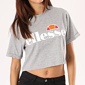 /achat-t-shirts/ellesse-tee-shirt-crop-femme-alberta-gris-chine-134497.html