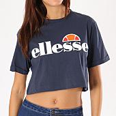 /achat-t-shirts/ellesse-tee-shirt-crop-femme-alberta-bleu-marine-134498.html