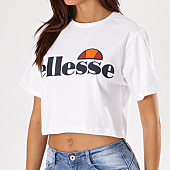 /achat-t-shirts/ellesse-tee-shirt-crop-femme-alberta-blanc-134501.html