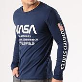 /achat-t-shirts-manches-longues/nasa-tee-shirt-manches-longues-admin-bleu-marine-134597.html