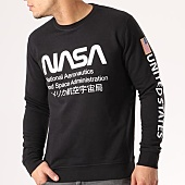 /achat-sweats-col-rond-crewneck/nasa-sweat-crewneck-admin-noir-134619.html