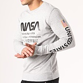 /achat-sweats-col-rond-crewneck/nasa-sweat-crewneck-admin-gris-chine-134622.html