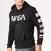 /achat-sweats-capuche/nasa-sweat-capuche-flags-noir-134634.html