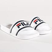 /achat-claquettes-sandales/fila-claquettes-femme-morro-bay-slipper-1010340-1fg-blanc-135197.html