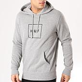 /achat-sweats-capuche/huf-sweat-capuche-box-logo-gris-chine-135232.html