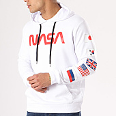 /achat-sweats-capuche/nasa-sweat-capuche-flags-blanc-rouge-135909.html