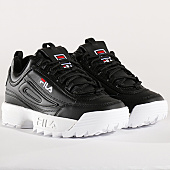 /achat-baskets-basses/fila-baskets-femme-disruptor-low-1010302-25y-black-136433.html