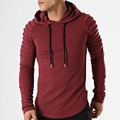 /achat-sweats-capuche/lbo-sweat-capuche-oversize-406-bordeaux-136684.html