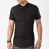 /achat-chemises-manches-courtes/antony-morato-chemise-manches-courtes-mmss00110-noir-136821.html