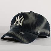 /achat-casquettes-de-baseball/47-brand-casquette-mlb-new-york-yankees-clean-up-lghlc17dms-noir-gris-137170.html