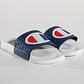 /achat-claquettes-sandales/champion-claquettes-multidio-s206990-bs036-blanc-bleu-marine-137125.html