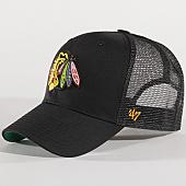 /achat-trucker/47-brand-casquette-trucker-nhl-chicago-blackhawks-mvp-brans04ctp-noir-137315.html