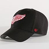 /achat-casquettes-de-baseball/47-brand-casquette-nhl-detroit-redwings-mvp-05wbv-noir-137327.html