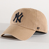 /achat-casquettes-de-baseball/47-brand-casquette-mlb-new-york-yankees-clean-up-rgw17gwsnl-beige-bleu-marine-137435.html