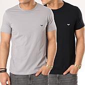 /achat-t-shirts/emporio-armani-lot-de-2-tee-shirts-111267-cc717-noir-gris-137490.html