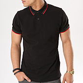 /achat-polos-manches-courtes/urban-classics-polo-manches-courtes-tb2063-noir-rouge-vert-137269.html