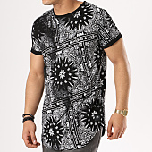 /achat-t-shirts-longs-oversize/sixth-june-tee-shirt-oversize-m3113vts-noir-bandana-blanc-137574.html