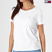 /achat-t-shirts/tommy-hilfiger-jeans-tee-shirt-femme-original-soft-jersey-4709-blanc-138305.html