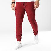 /achat-jogger-pants/john-h-jogger-pant-p7667-bordeaux-138652.html