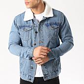 /achat-vestes-jean/brave-soul-veste-jean-col-mouton-larson-bleu-denim-138846.html