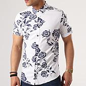 /achat-chemises-manches-courtes/classic-series-chemise-manches-courtes-3332-blanc-bleu-marine-floral-138707.html