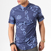 /achat-chemises-manches-courtes/classic-series-chemise-manches-courtes-3332-bleu-marine-bleu-clair-floral-138711.html