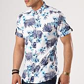 /achat-chemises-manches-courtes/classic-series-chemise-manches-courtes-3315-blanc-bleu-clair-floral-138770.html