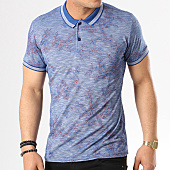 /achat-polos-manches-courtes/classic-series-polo-manches-courtes-2057-bleu-marine-chine-floral-138832.html