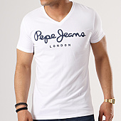 /achat-t-shirts/pepe-jeans-tee-shirt-original-stretch-blanc-138863.html