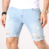 /achat-shorts-jean/siksilk-short-jean-troue-distressed-13008-bleu-denim-138865.html