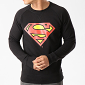 /achat-sweats-col-rond-crewneck/superman-sweat-crewneck-classic-logo-noir-139158.html