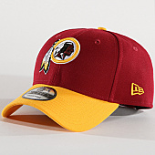 /achat-casquettes-de-baseball/new-era-casquette-washington-redskins-the-league-10517864-bordeaux-jaune-139401.html