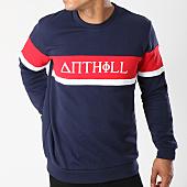 /achat-sweats-col-rond-crewneck/anthill-sweat-crewneck-avec-bande-typo-bleu-marine-139779.html