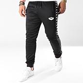 /achat-pantalons-joggings/charo-pantalon-jogging-avec-bandes-ambition-noir-139776.html