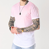 /achat-t-shirts-longs-oversize/final-club-tee-shirt-oversize-degrade-avec-broderie-053-rose-et-blanc-139888.html