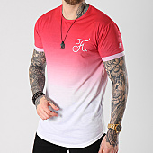 /achat-t-shirts-longs-oversize/final-club-tee-shirt-oversize-degrade-avec-broderie-055-rouge-et-blanc-139890.html