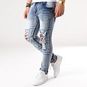 /achat-jeans/john-h-jean-slim-c002-bleu-denim-floral-139835.html