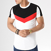 /achat-t-shirts-longs-oversize/classic-series-tee-shirt-oversize-8177-noir-rouge-blanc-140322.html