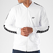 /achat-vestes/wrung-veste-zippee-banbes-brodees-playoff-blanc-noir-140613.html