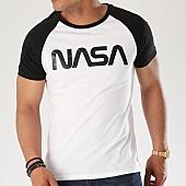 /achat-t-shirts/nasa-tee-shirt-raglan-worm-logo-blanc-noir-140754.html