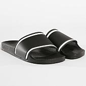 /achat-claquettes-sandales/lbo-claquettes-447-noir-liseres-noir-blanc-141061.html