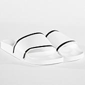 /achat-claquettes-sandales/lbo-claquettes-449-blanche-liseres-blanc-noir-141063.html