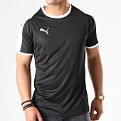 /achat-t-shirts/puma-tee-shirt-liga-jersey-703417-noir-blanc-141132.html