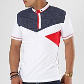 /achat-polos-manches-courtes/classic-series-polo-manches-courtes-8440-blanc-bleu-marine-rouge-141329.html