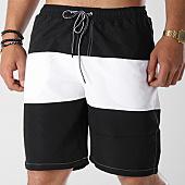 /achat-maillots-de-bain/john-h-short-de-bain-2p011-noir-blanc-141347.html