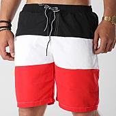 /achat-maillots-de-bain/john-h-short-de-bain-2p011-rouge-blanc-noir-141349.html