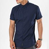 /achat-chemises-manches-courtes/produkt-chemise-manches-courtes-dek-sharif-poplin-bleu-marine-141626.html